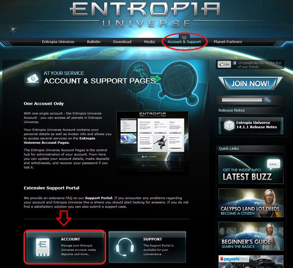 entropia-universe-site-account