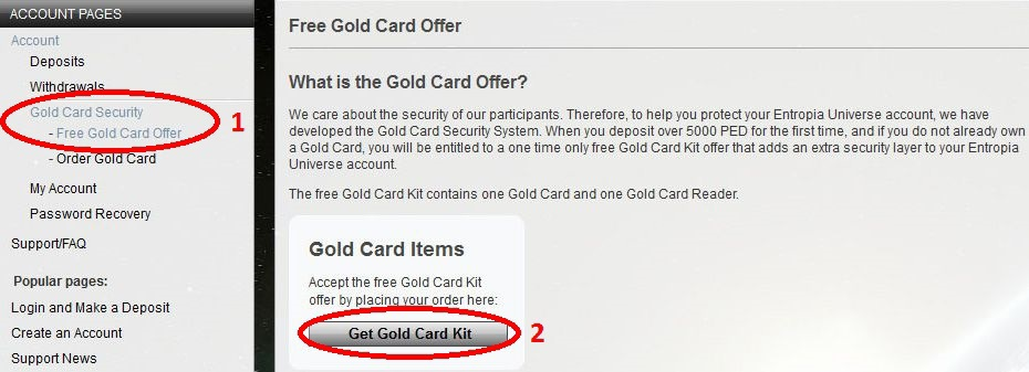 gold card kit final confirm