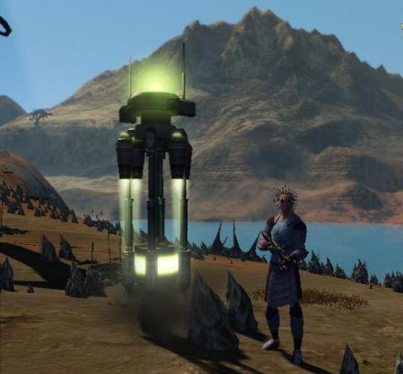 башня в майне Entropia Universe