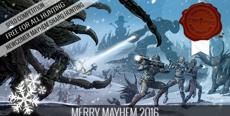 Merry Mayhem 2016 в Entropia Universe