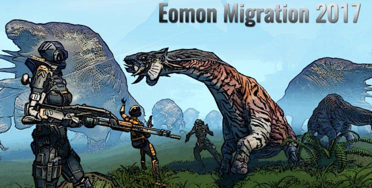 Миграция Йомонов 2017 началась!
