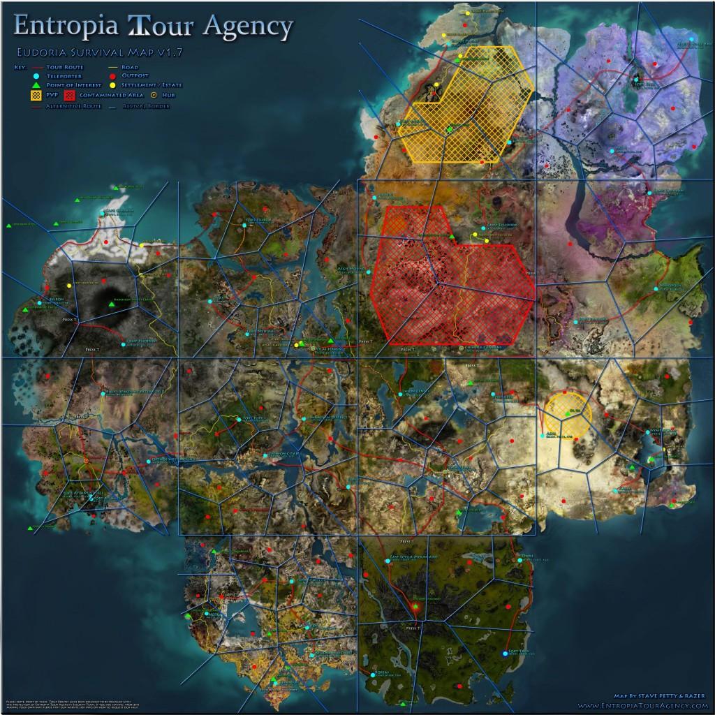 карта Eudoria