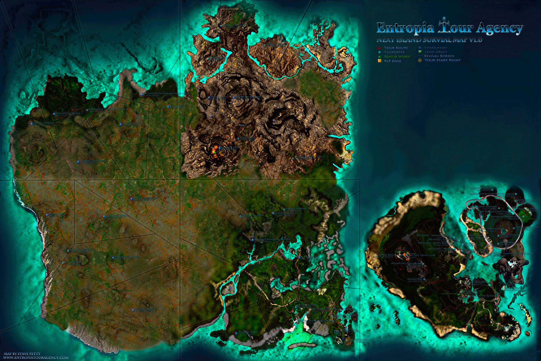 карта Next Island