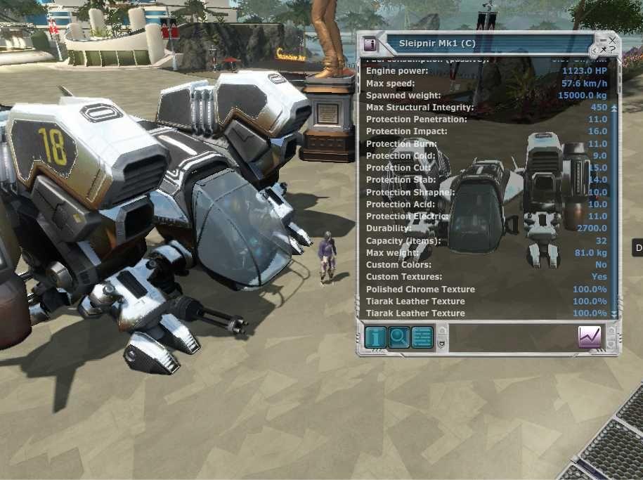 sleipnir Mk1 Entropia Universe