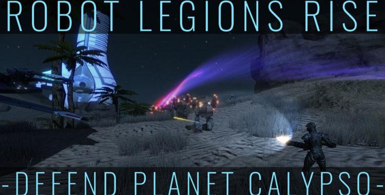 Массивное наступление Легионов Роботов